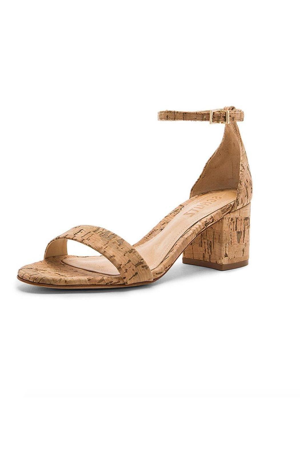 Schutz Chimes Block Heel Sandal PzrNzZRa