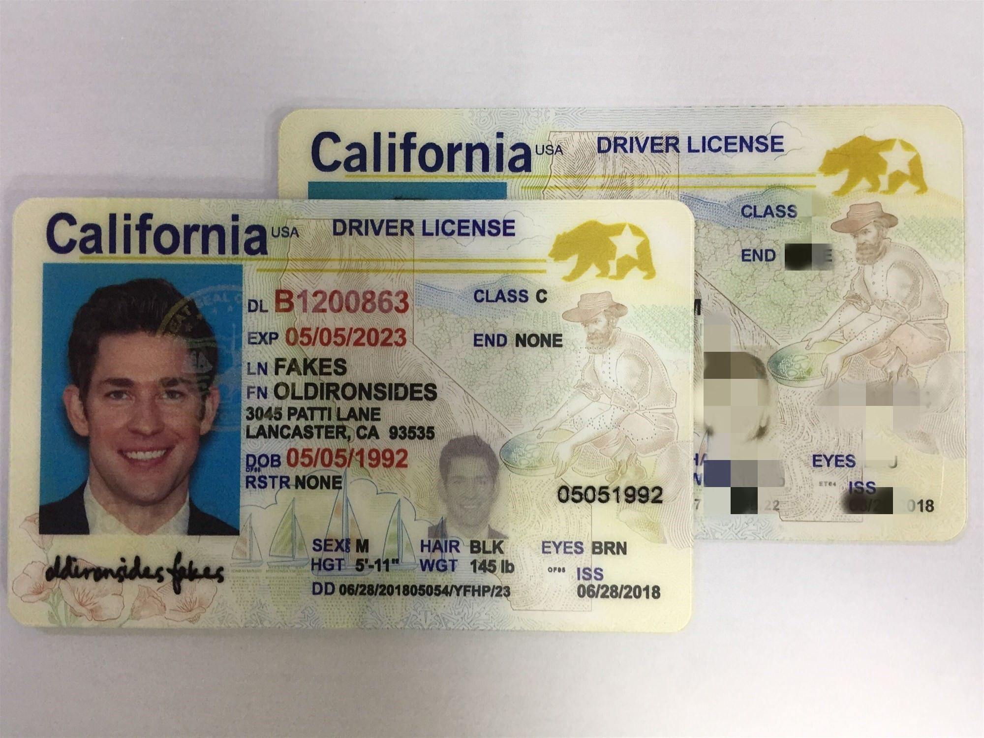 New California Fake Id Review Ca
