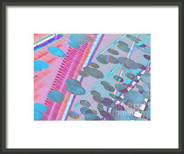 Airport Love Two Framed Print By Expressionistar Priscilla-batzell