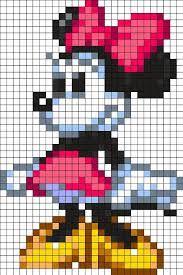 Resultat De Recherche D Images Pour Dessin Pixel Mickey Minnie Dessin Pixel Point De Croix Dessin Quadrillage