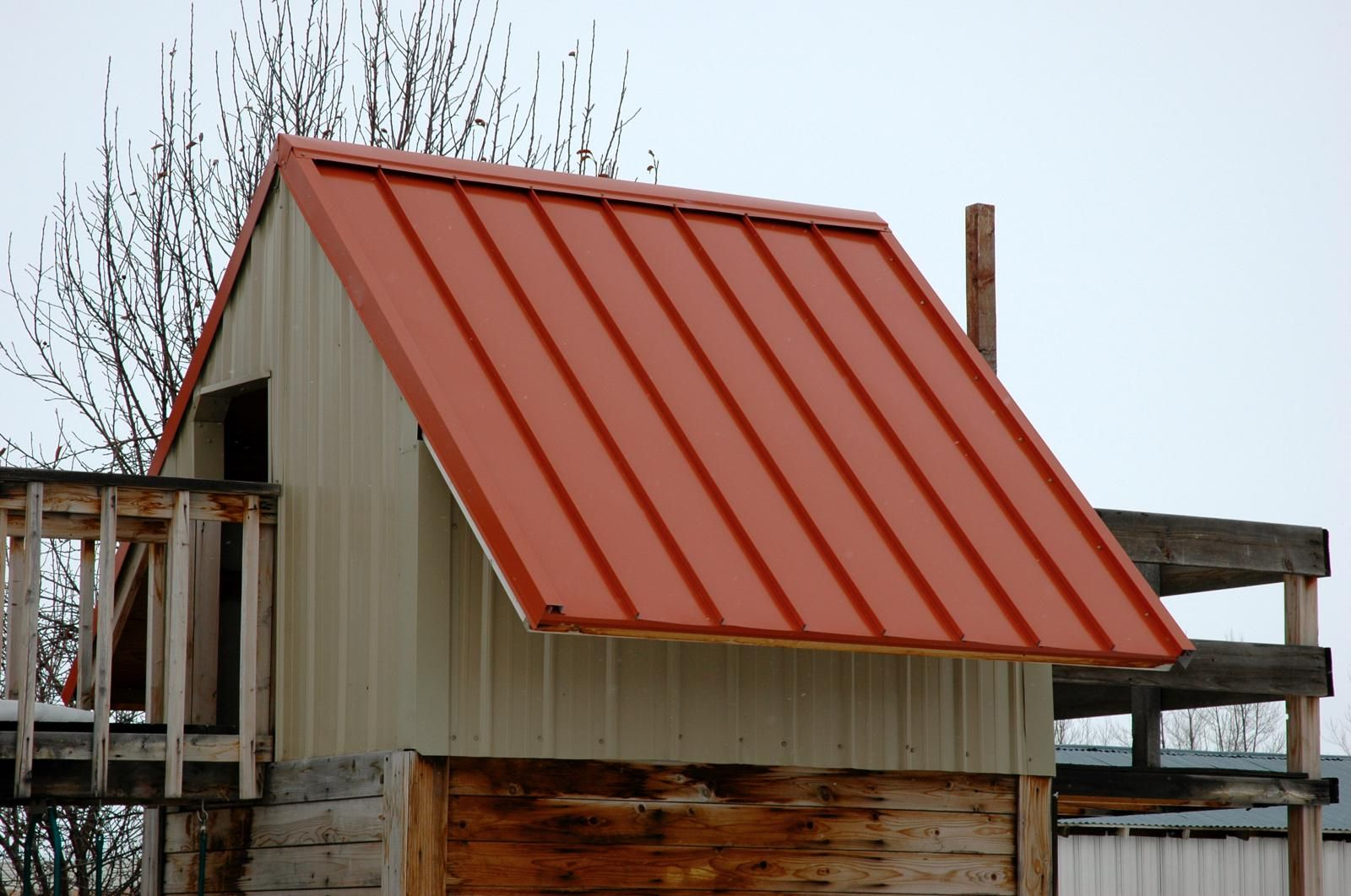 Terra Cotta Rigby Idaho Armorx Series Rapid Snap Ns100 Metal Roofing Play House Metal Roof Gallery Frame Outdoor Decor