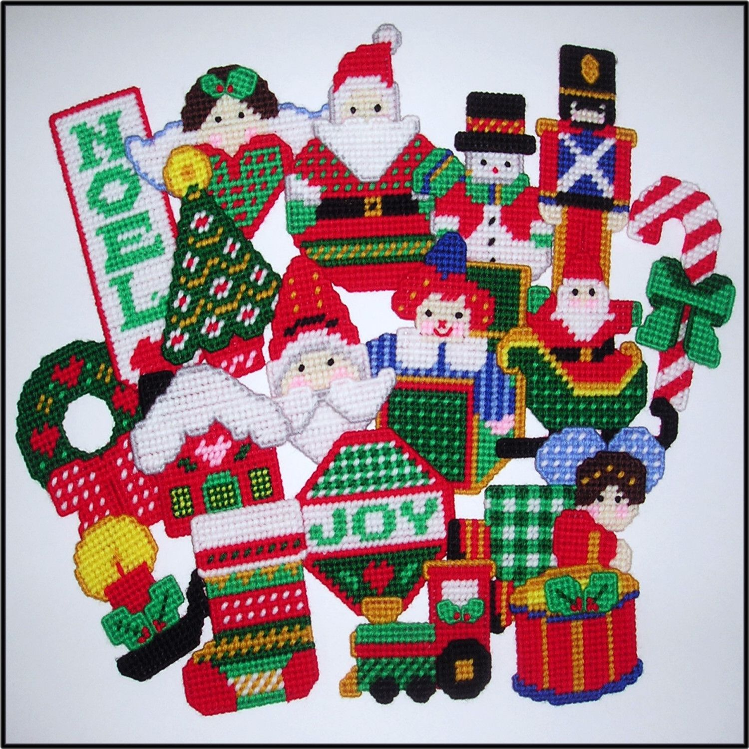 Free Plastic Canvas Christmas Patterns Best Design Inspiration