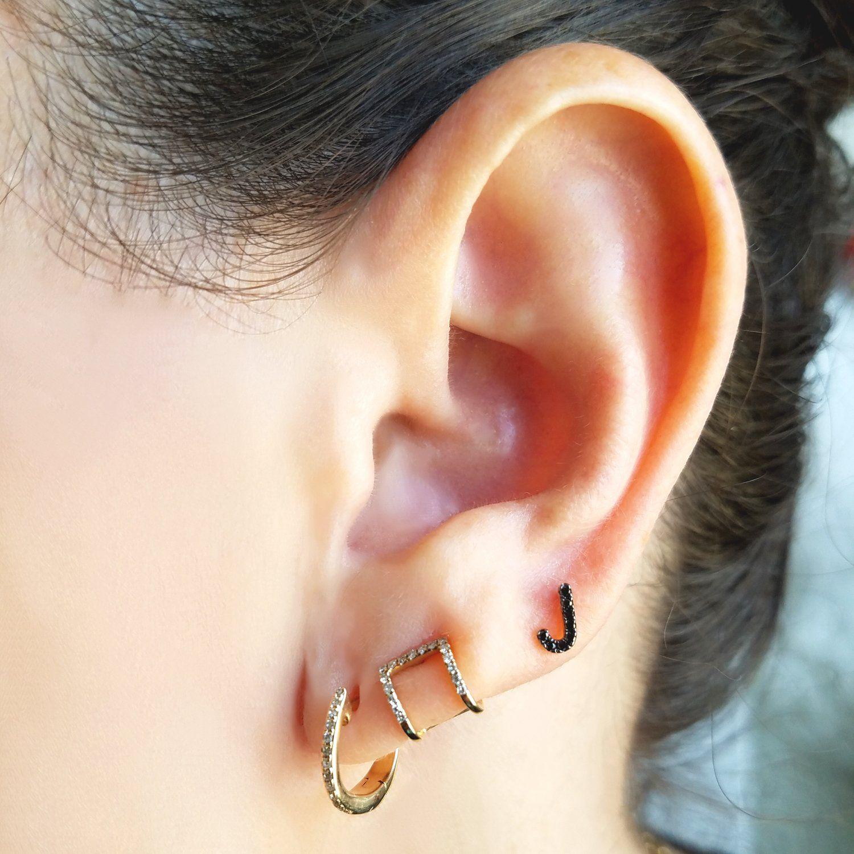 Nose piercing over 50  Small Diamond Hoop Earrings  Jewelry  Pinterest  Earrings