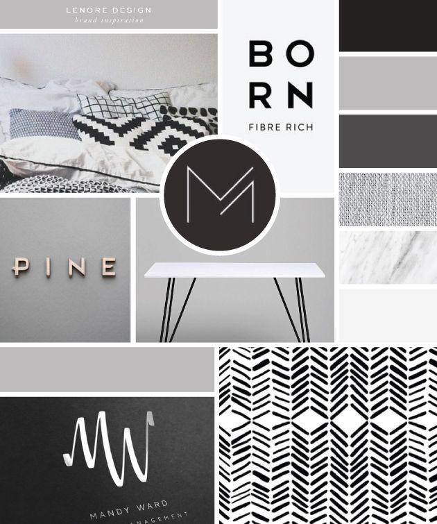 Brand Launch Lenore Interior Design Branding design Logo