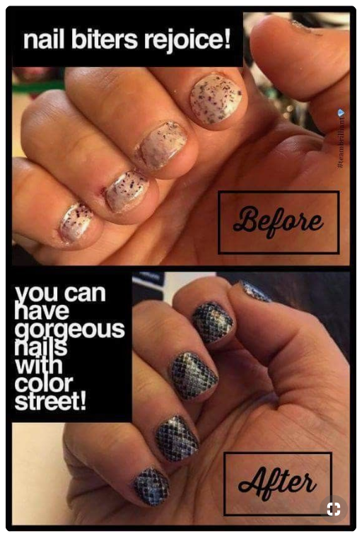 Even The Really Short Nails Can Be Pretty Color Street Nails Color Street Really Short Nails