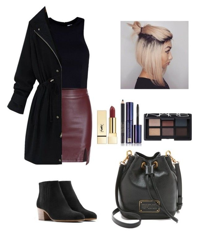 """Untitled #270"" by vivianangelica on Polyvore featuring T By Alexander Wang, PUR, Vince, Marc by Marc Jacobs, Estée Lauder and NARS Cosmetics"