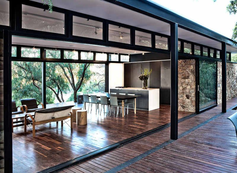 Pin By Bigbangthinking On Architecture Steel Frame House Modern House Design Steel House