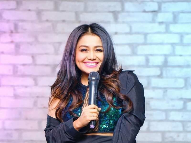 Neha Kakkar Songs Download Latest Video Songs Mp3 Mp4 In 2020 Neha Kakkar Singer Neha Kakkar Dresses