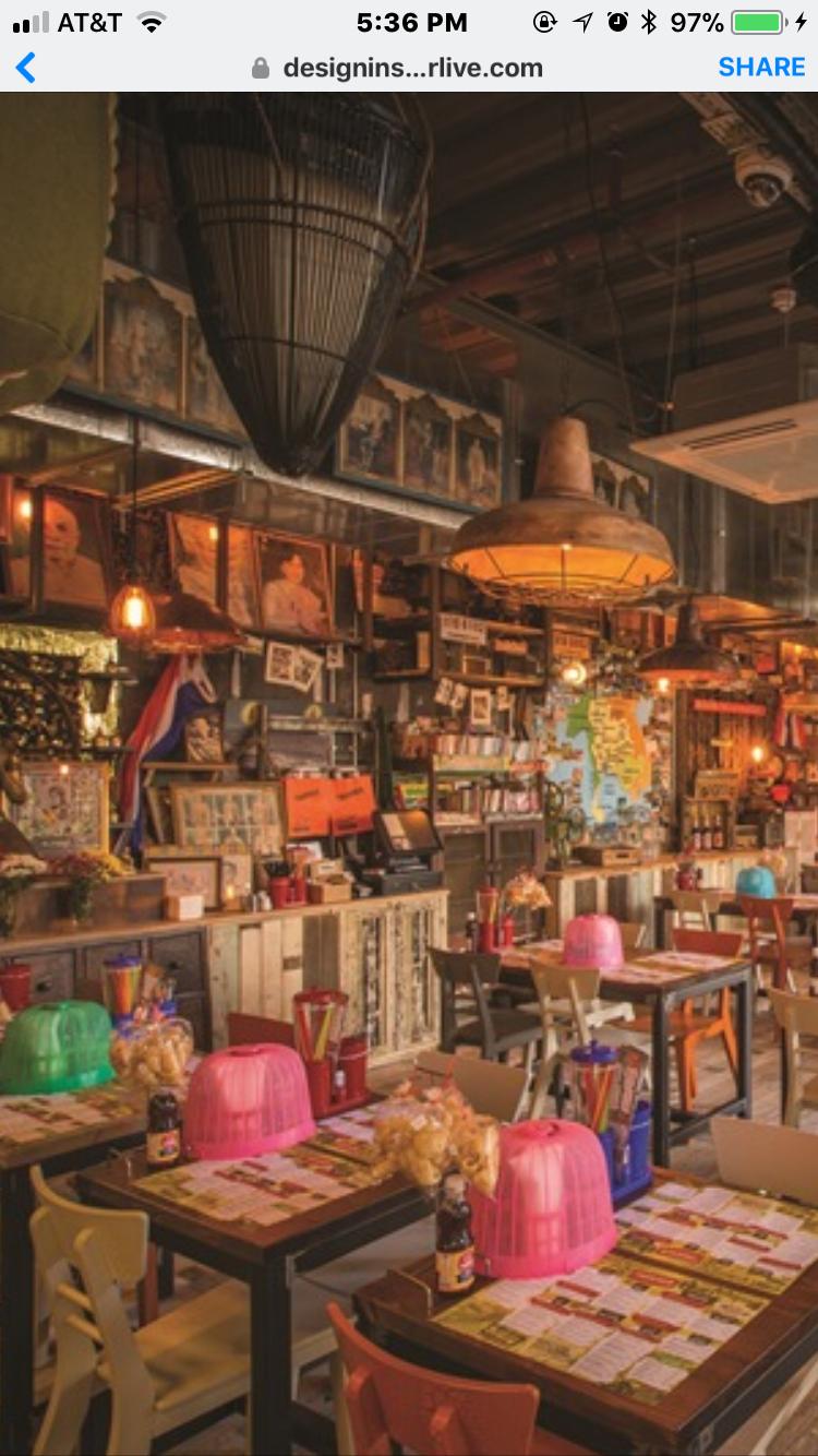 Taikuhn Cafe Interior Design Industrial Restaurant Restaurant Decor