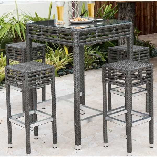 Best Place To Buy Graphite Bar Height Dining Set By Panama Jack