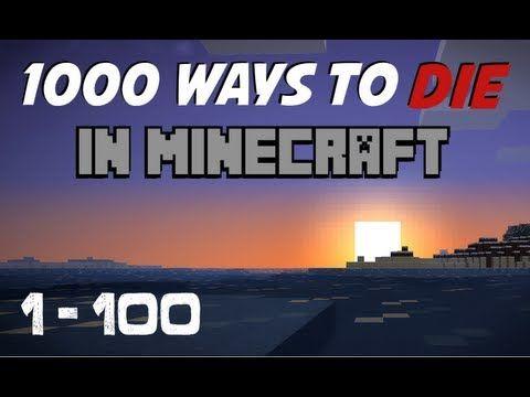 minecraft 1000 ways to die