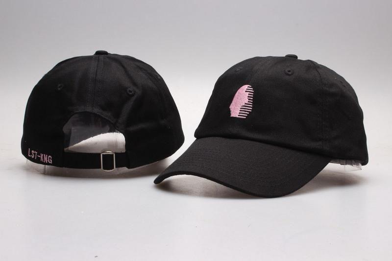 dd7a325284c Mens   Womens Unisex Last Kings The Foundation OG Logo Strap Back Baseball  Adjustable Dad Hat - Black   Pink