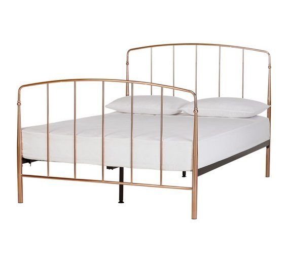 Buy Collection Aurelie Small Double Bed Frame Rose Gold At Argos