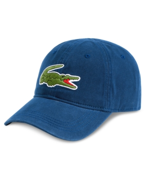 7e057d11 Lacoste Men's Large Croc Gabardine Cap - Blue in 2019 | Products ...