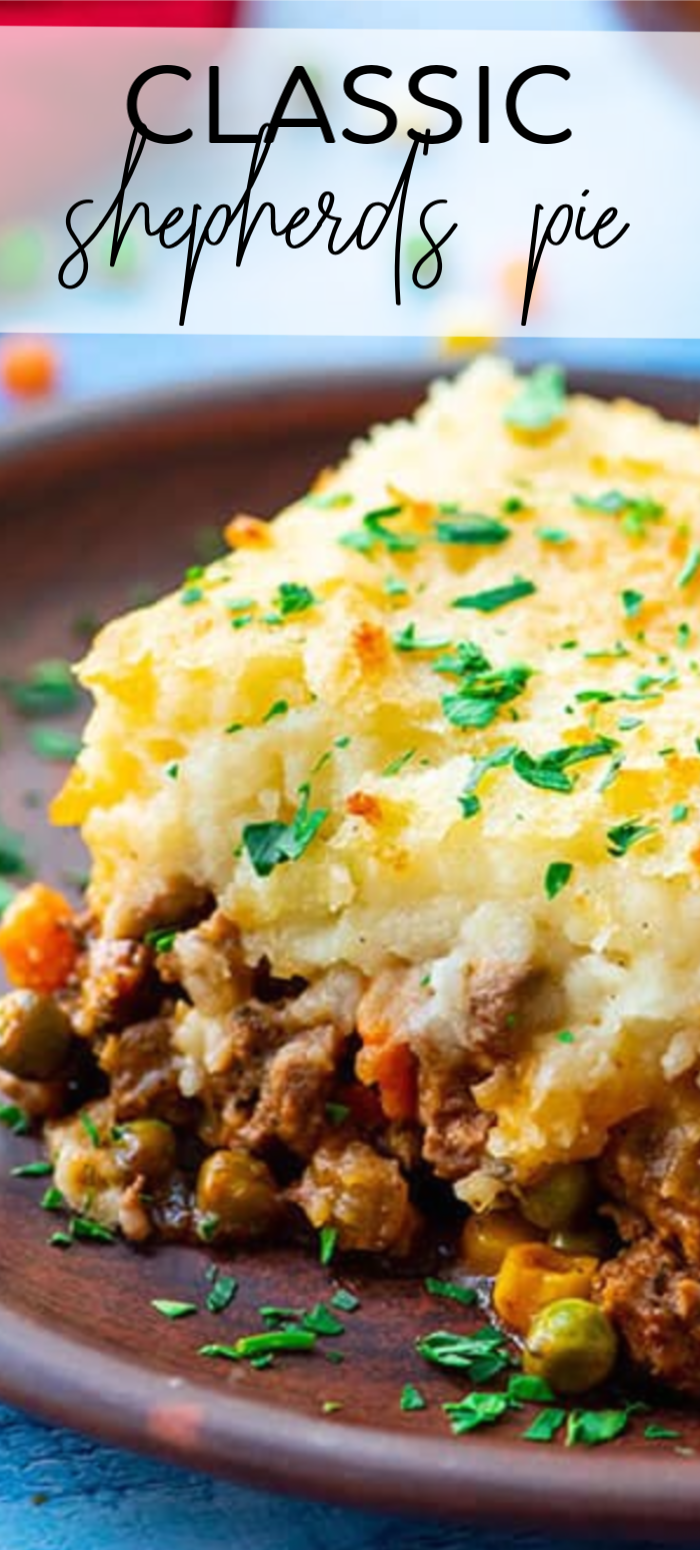 The Best Classic Shepherd S Pie The Wholesome Dish Recipe In 2020 Shepherds Pie Recipe Easy Best Shepherds Pie Recipe Easy Pie Recipes