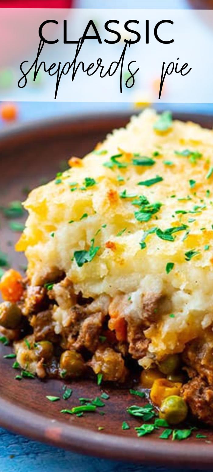 The Best Classic Shepherd S Pie The Wholesome Dish Recipe In 2020 Shepherds Pie Recipe Easy Best Shepherds Pie Recipe Shepards Pie Recipe