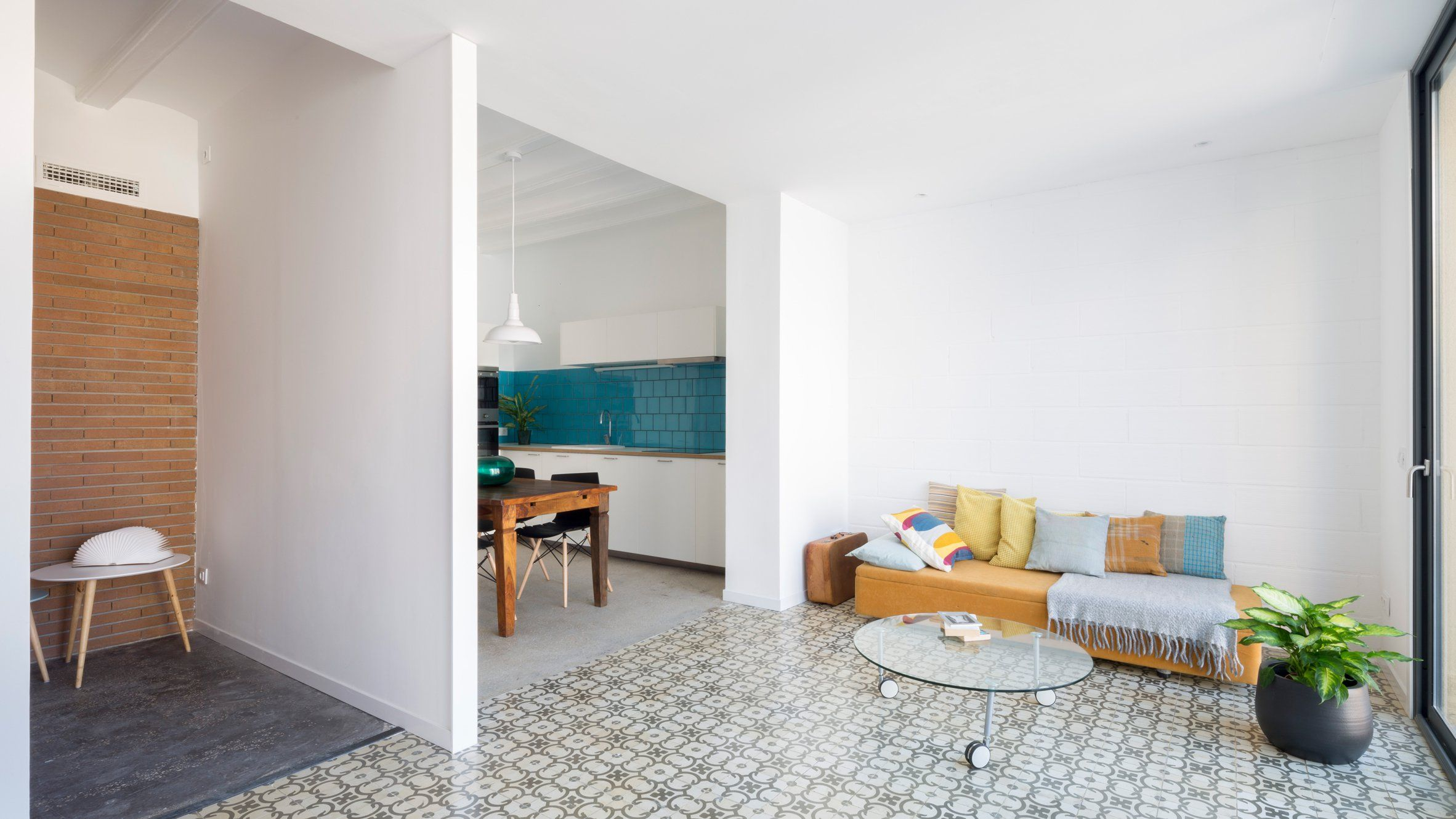 Nook Architects has converted a Barcelona block into a bed and