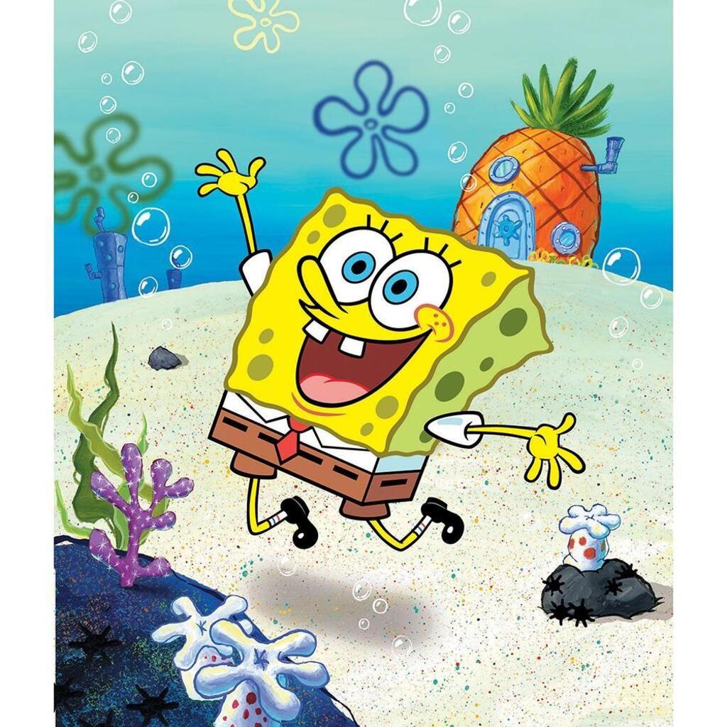 Diamond Painting - Full Round - Spongebob