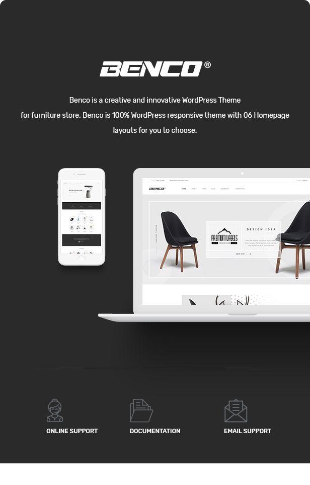 Benco - Responsive Furniture WooCommerce WordPress Theme   Wordpress ...