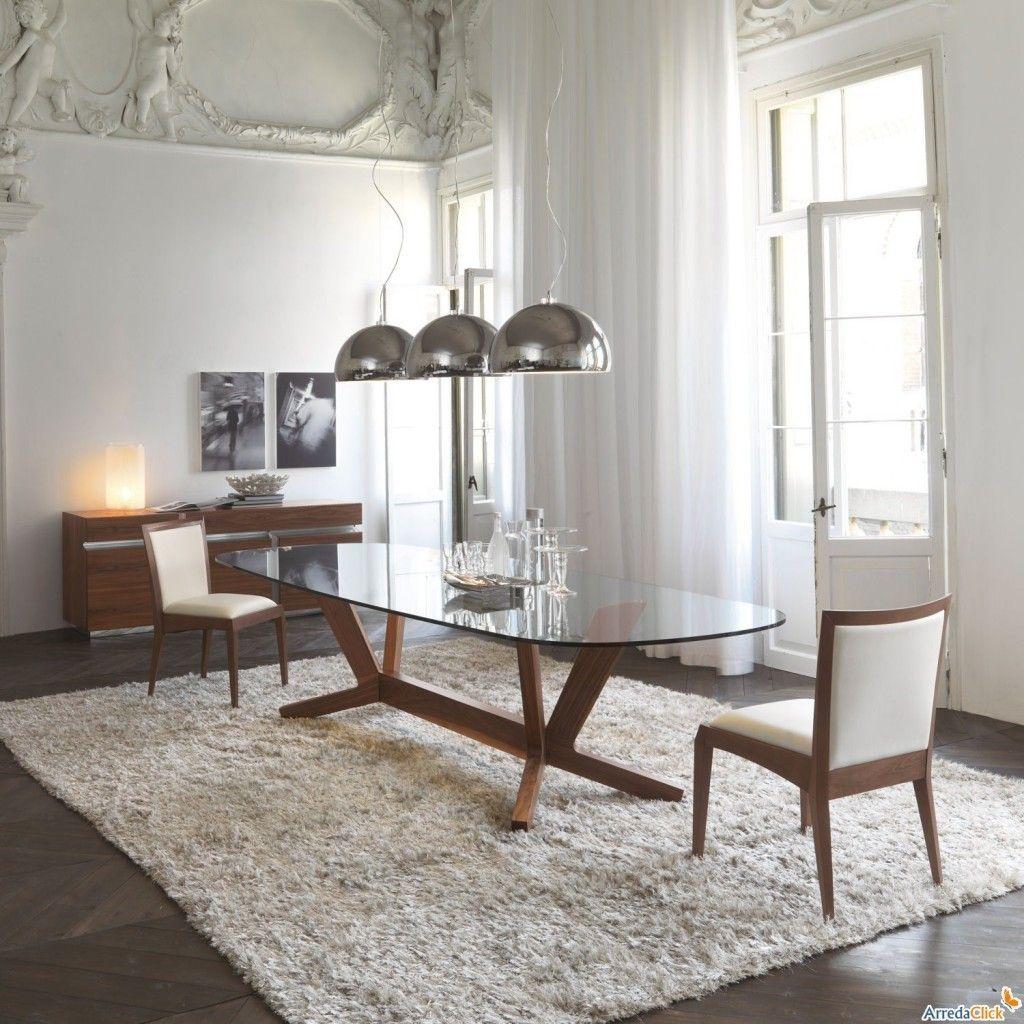 tavolo-in legno-per-soggiorno-moderno-goblin | My home <3 | Modern ...