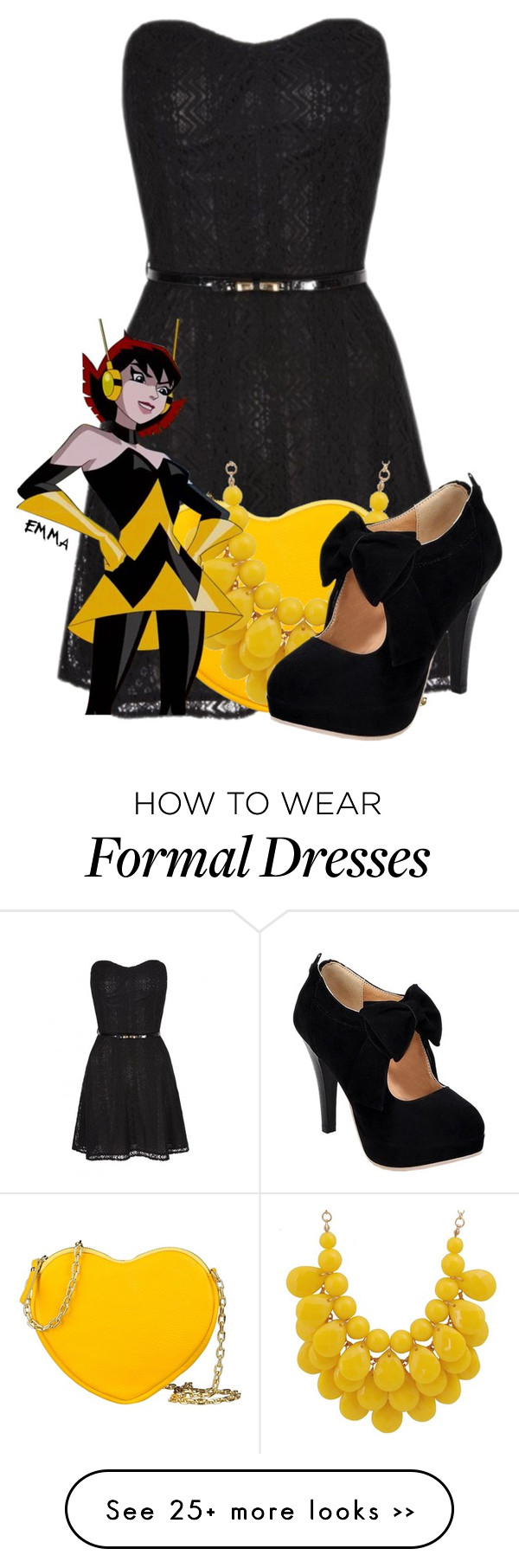 Wasp inspired formal
