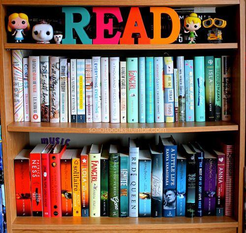 Books And Colors Estanteria Libros Libros Libros Recomendados