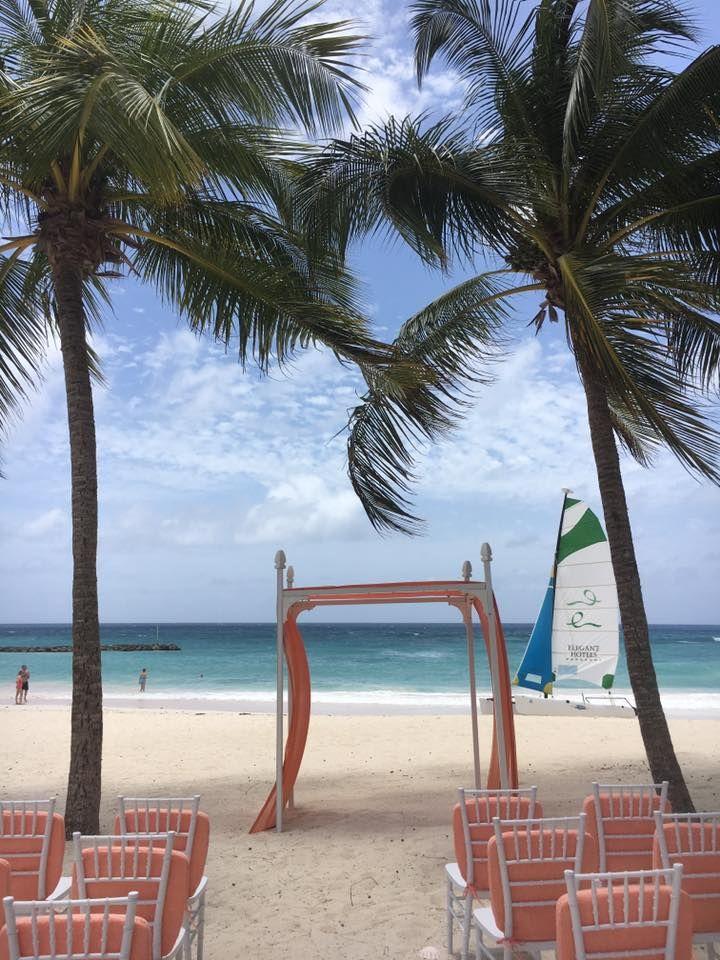 Sandals Barbados Beach Wedding Gazebo