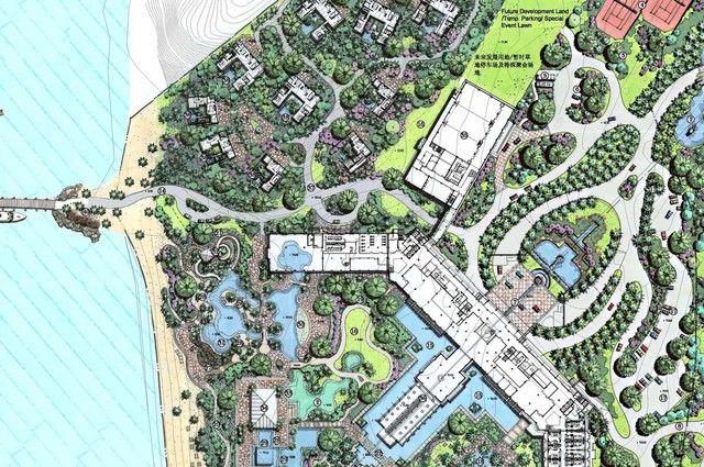 Resort Beach Master Plan Resort Plan Beach Resort Design Master Plan