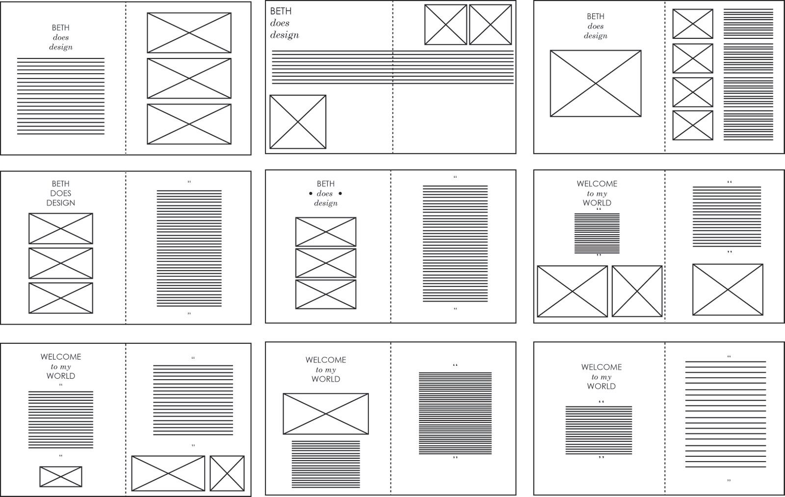 sophie wilson design practice indesign layouts vectored magazine pinterest template. Black Bedroom Furniture Sets. Home Design Ideas