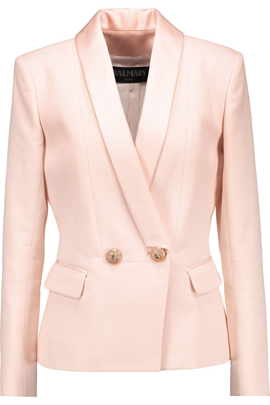 5f0f8a19c0 BALMAIN Crepe Blazer.  balmain  cloth  blazer