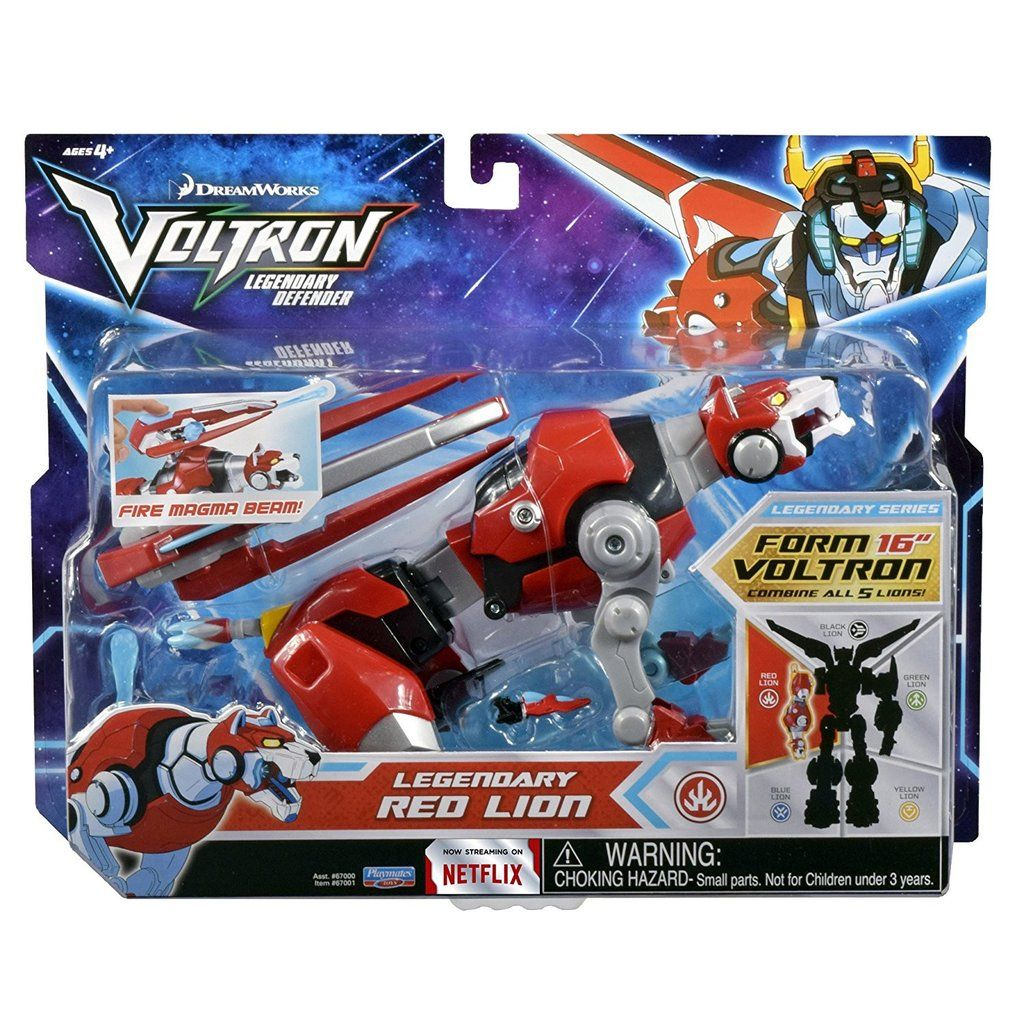 Playmates Voltron Legendary Defender Red Lion