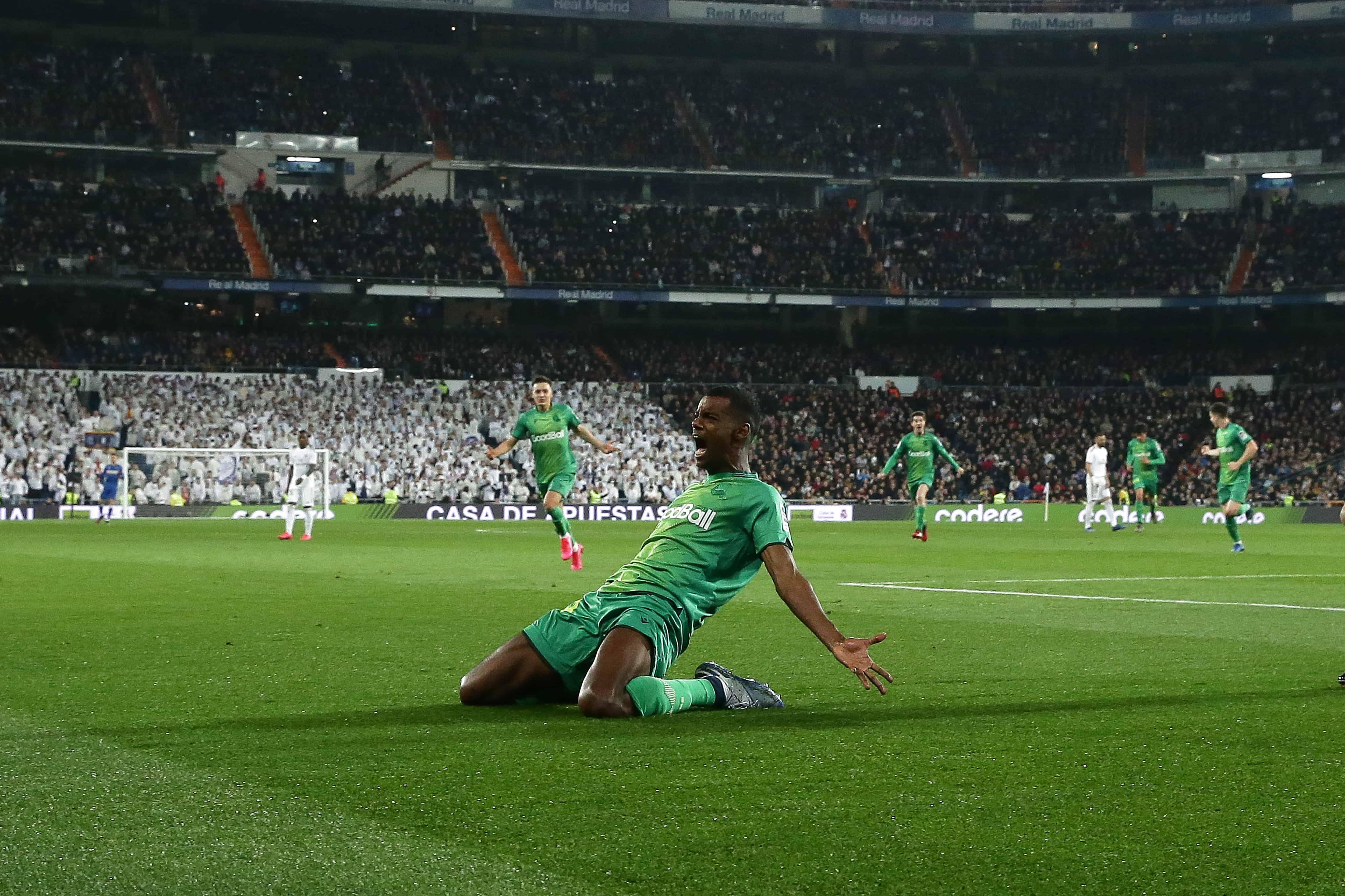 Real Sociedad Sorprendio Y Elimino A Real Madrid De La Copa Del Rey Santiago Bernabeu Real Madrid Y Bernabeu