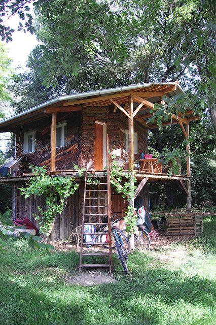 Tiny House With A Lofted Porch