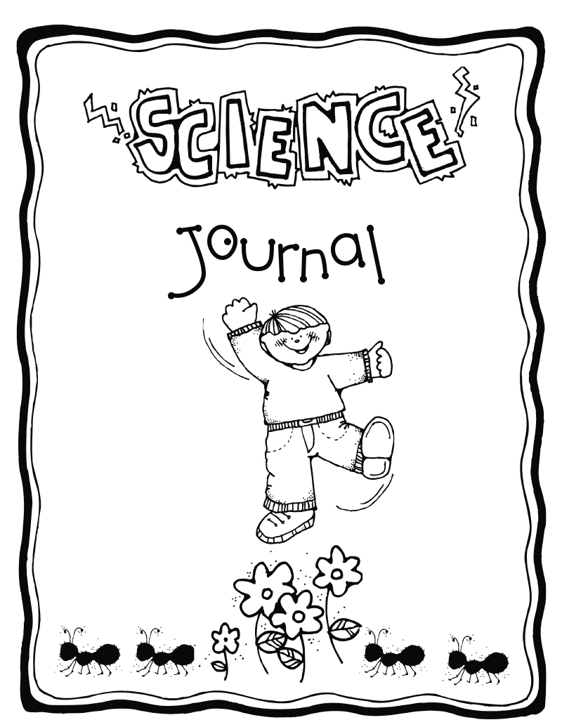 science journal cover completed ideas pinterest