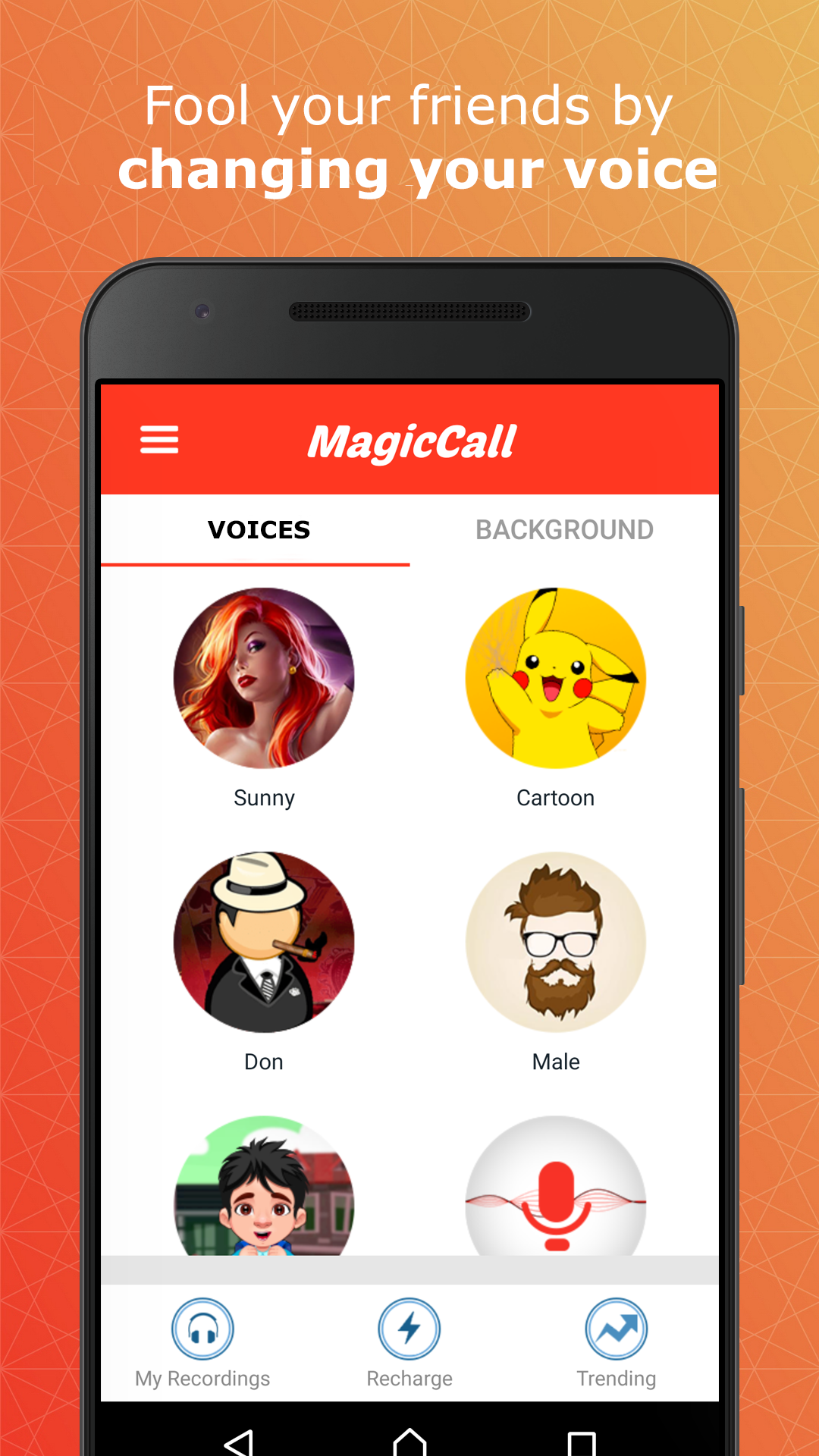 Magic Call The Ultimate Voice Changer App Voice Changer
