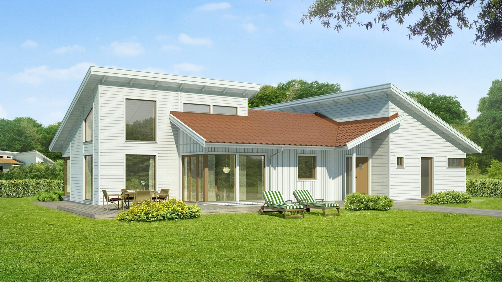 Mosas Self Build Kit Home From Sweden Beautiful Homes