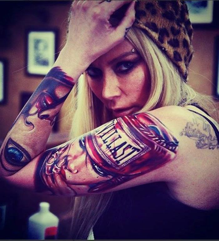 Http Brianmviveros Com Blog Jenna Jameson Gets Viveros Tattoo Inked Pinterest Tattoo