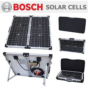 60w Folding Solar Panel Kit Battery Charger Car Motorhome Caravan Boat Camping Ebay Solar Panels Solar Solar Panel Kits