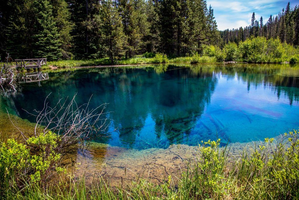 Meet Crater Lake's Stunning Little Sister, Little Crater Lake in Oregon | That Oregon Life