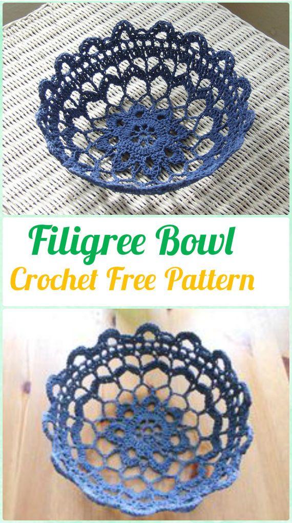 Crochet Spa Gift Ideas [Free Patterns]   Cestas, Puntos crochet y Tejido