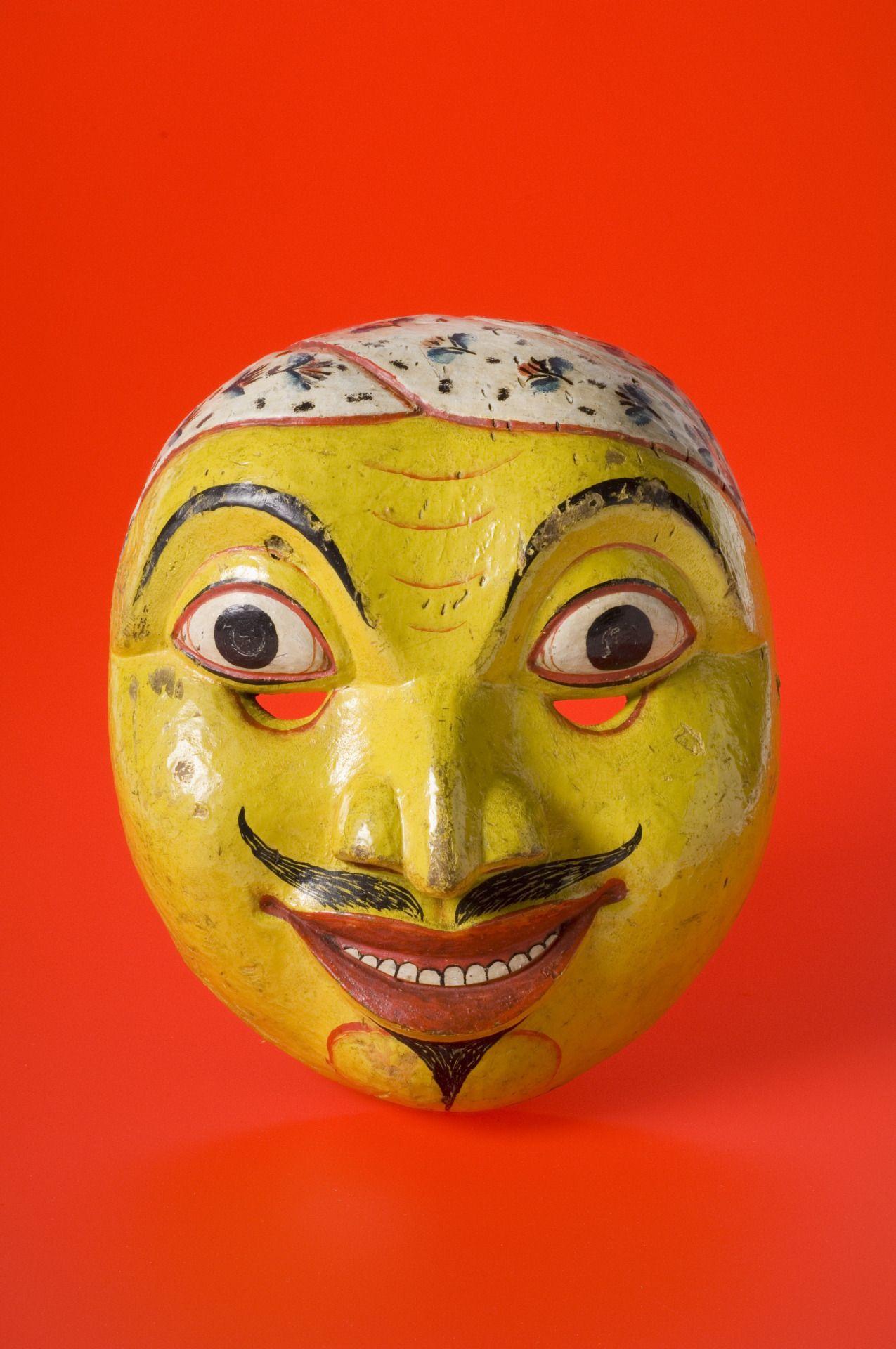 Kolam Mask / Sri Lanka, 1771 Masks art, Mask, Carnival