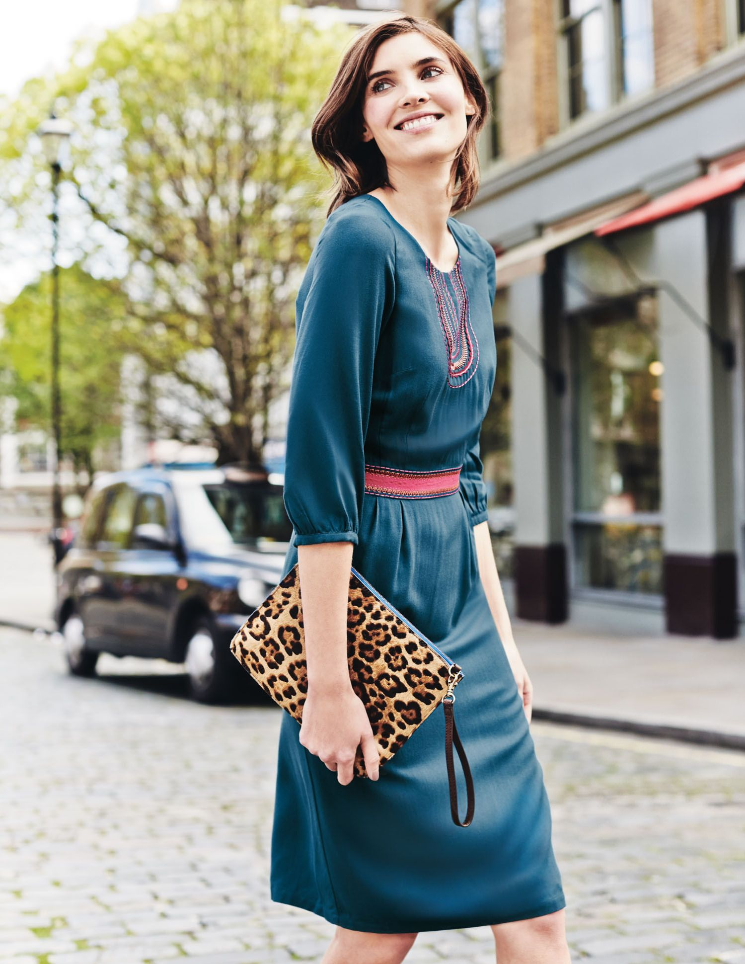 Boden Carla dress  Tageskleider, Kleider für frauen, Boden kleider