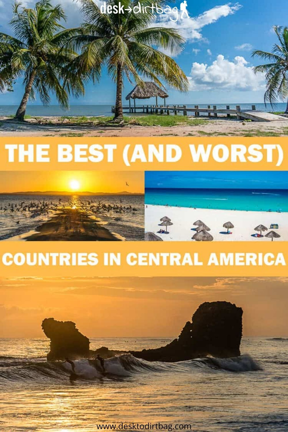 Ranking the Best Countries to Visit in Central America (And the Worst!)