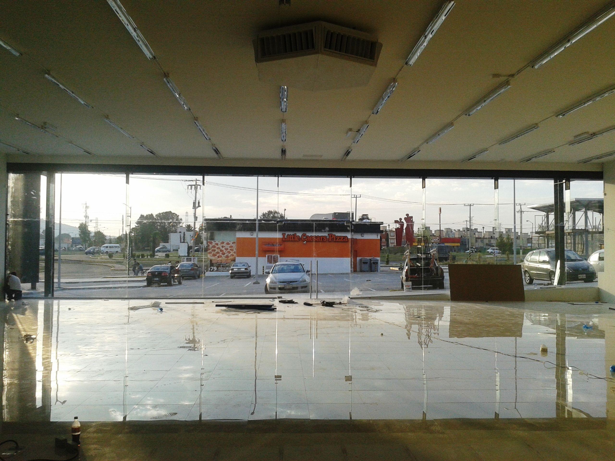 Fachada suspendida de vidrio arquitectura obras propias - Fachada de cristal ...