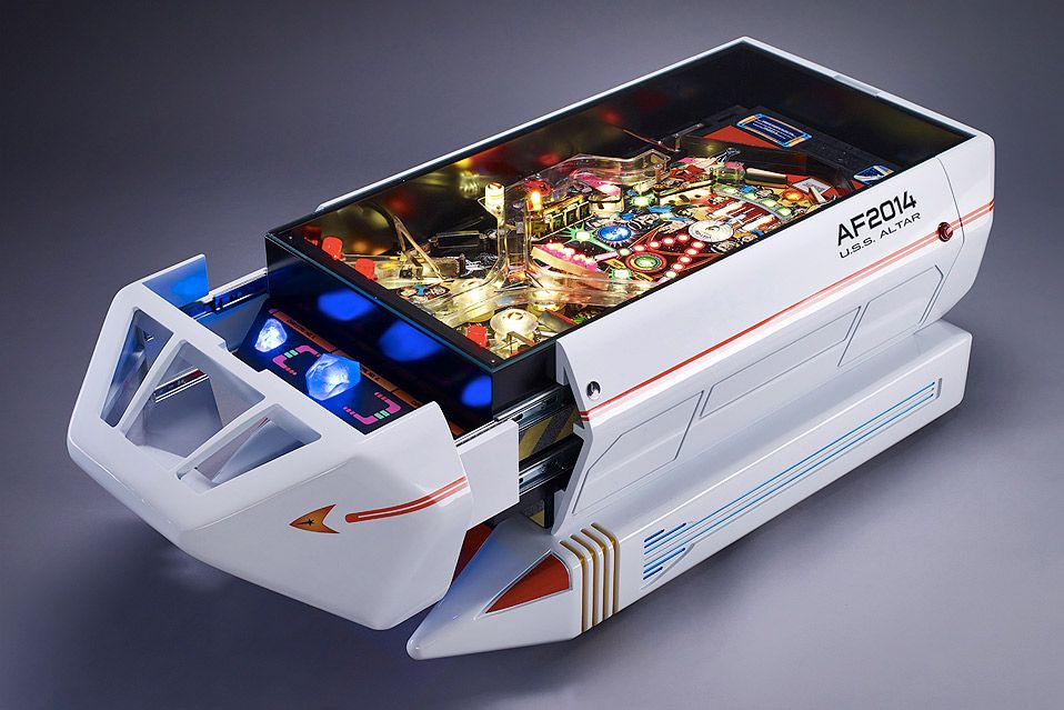 THE SHUTTLE INTERACTIVE COFFEE TABLE