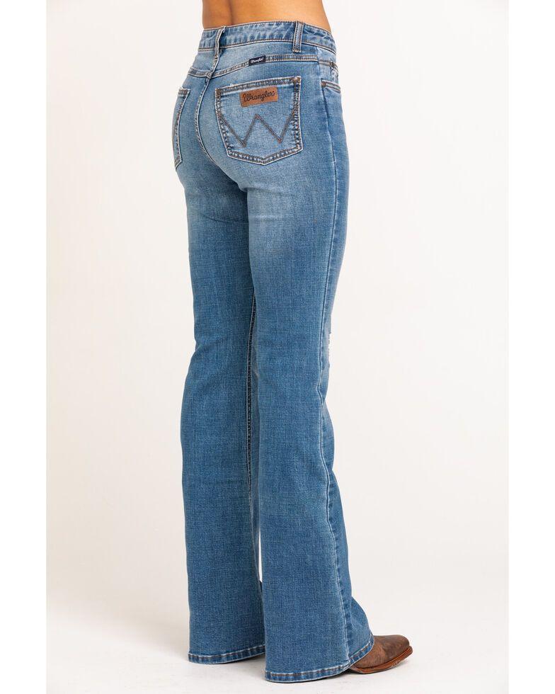 Wrangler Women's Retro Mae High Rise Flare Jeans