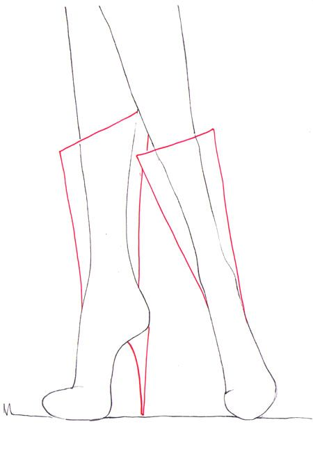 Photo of How to draw boots – I Draw Fashion