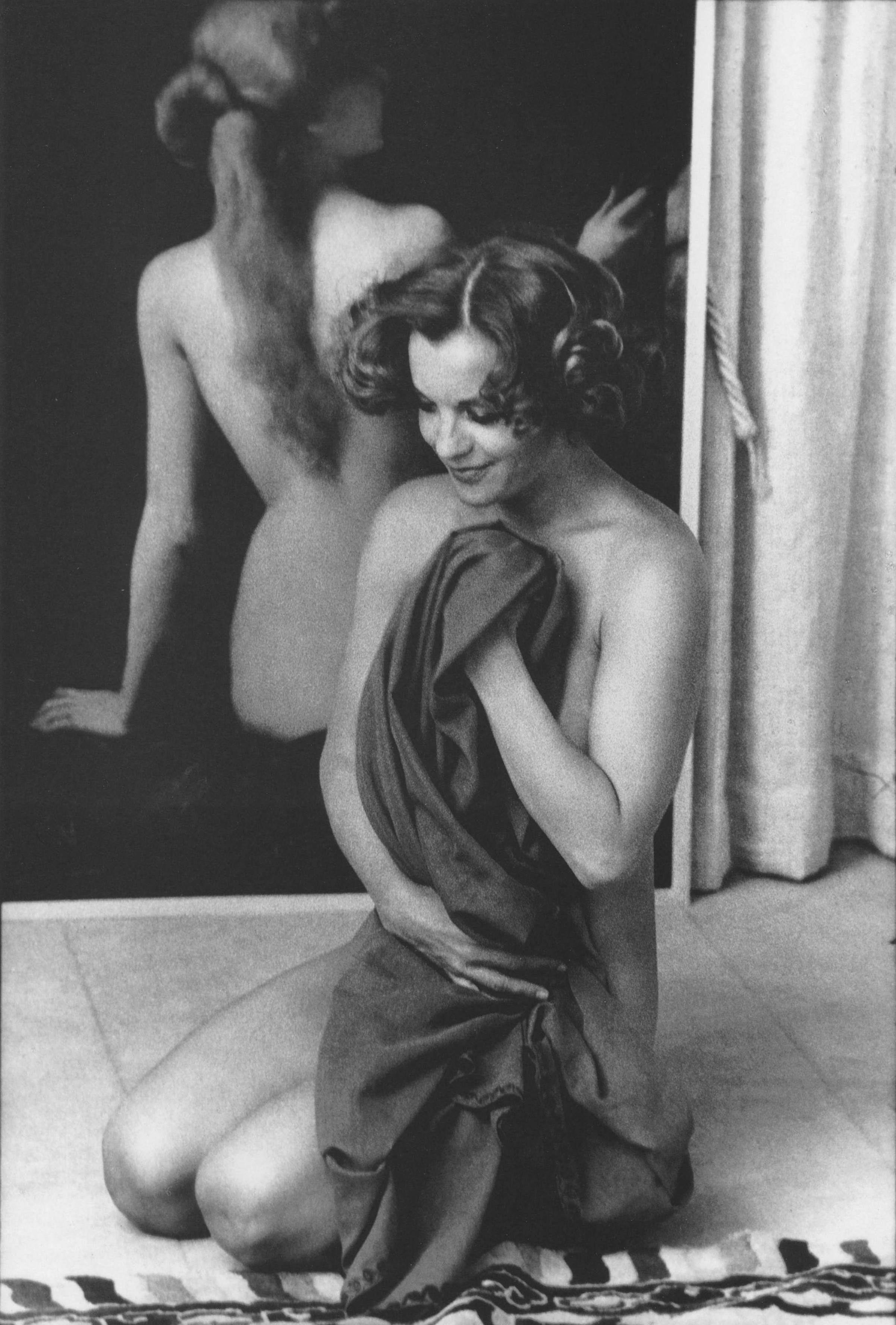 Romy Schneider, Paris, 1974, by Giancarlo Botti