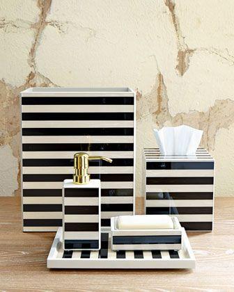 Waylande Gregory Striped Vanity Accessories