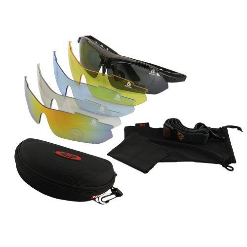 DBPOWER(US Seller) Cycling Wrap Running Outdoor Sports Sunglasses Multi Sport Glasses Exchangeable 5 Lenses Unbreakable Polarized UV400 Black - http://www.mansboss.com/dbpowerus-seller-cycling-wrap-running-outdoor-sports-sunglasses-multi-sport-glasses-exchangeable-5-lenses-unbreakable-polarized-uv400-black/?utm_source=PN&utm_medium=http%3A%2F%2Fwww.pinterest.com%2Fpin%2F368450813235896433&utm_campaign=SNAP%2Bfrom%2BIt%27s+A+Man%27s+World